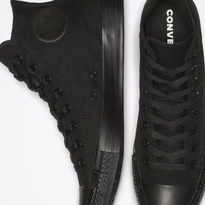 Converse | black high tops